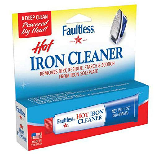 (Faultless Hot Iron Cleaner)