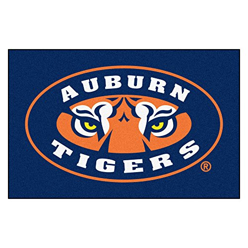 FANMATS NCAA Auburn University Tigers Nylon Face Starter Rug (Auburn Tigers Door Mat)