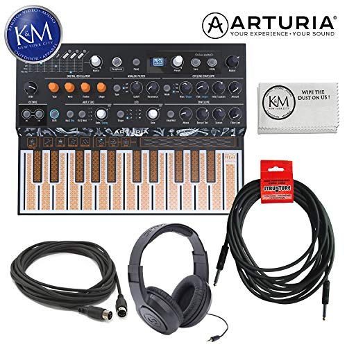 Arturia MicroFreak – Hybrid Analog/Digital Synthesizer with Essential Bundle