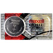 10PC Maxell CR2032 Coin Cell Battery Lithium 3V - Made in Japan