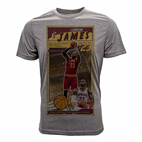 NBA Cleveland Cavaliers Children Unisex First Issue Youth Tee, Ym, Heather Pebble