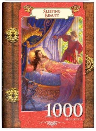 Masterpieces 71555 Sleeping Beauty Puzzle - 1000 Piece - Sleeping Beauty Jigsaw Puzzle Book