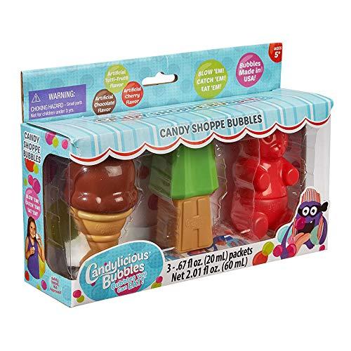 Little Kids Candylicious Candy Shoppe Bubbles - 3 Piece