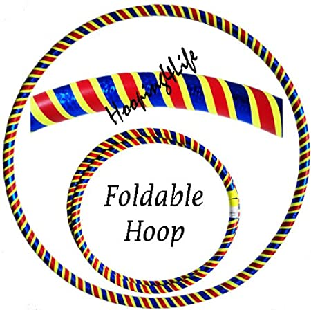 Hooping4Life Travel 40 (102cm) FOLDABLE Dance, Exercise & Fitness Hula Hoola Hoop/Hoops | MULTI LISTING