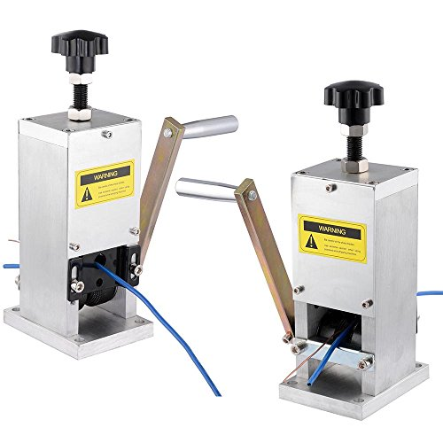 Yescom Manual Wire Stripping Machine+Drill Connector Cable Peeling Stripper Tool for Scrap Copper Recycling 0.06-0.98'' by Yescom (Image #9)