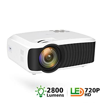 Mini Proyector 2800 Lumen Native 1280X720 Video Portátil HD T23K ...