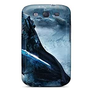 Anti-Scratch Hard Phone Cases For Samsung Galaxy S3 With Customized Nice World Of Warcraft Pattern SherriFakhry