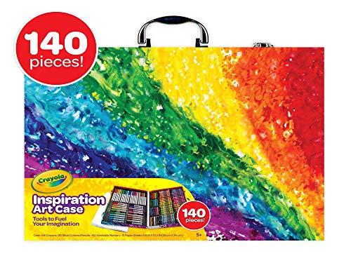 מזוודת ציור 140 חלקים Crayola