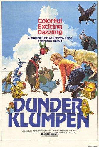 Dunder Klumpen Movie Poster (27 x 40 Inches - 69cm x 102cm) (1980) -(Beppe Wolgers)(Jens Wolgers)(Halvar Björk)(Håkan Serner)(Gösta Ekman)(Toots Thielemans)