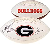 "Herschel Walker Georgia Bulldogs Autographed White Panel Football with ""82 Heisman"" Inscription - Fanatics Authentic Certified"