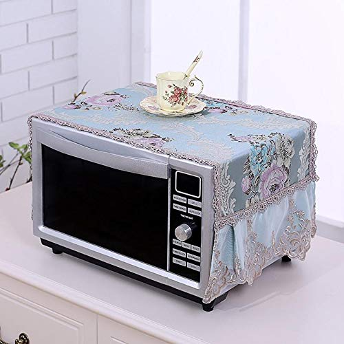 Dasanito3089 Microwave Oven Covers Suede Microwave Cover Dust Proof Cover Italian Velvet Microwave Oven Cover Kitchen Home Decoration Effectively Isolate Dust