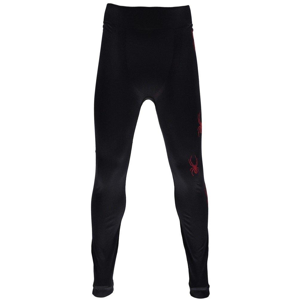 Spyder Boys Crest Pants, Black/Formula, Small/Medium