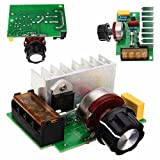 WILLAI Mayitr Adjustable SCR Voltage Regulator 4000W AC 220V Electric Speed Temperature Control Dimmer For AC Brush Motor Water Heater