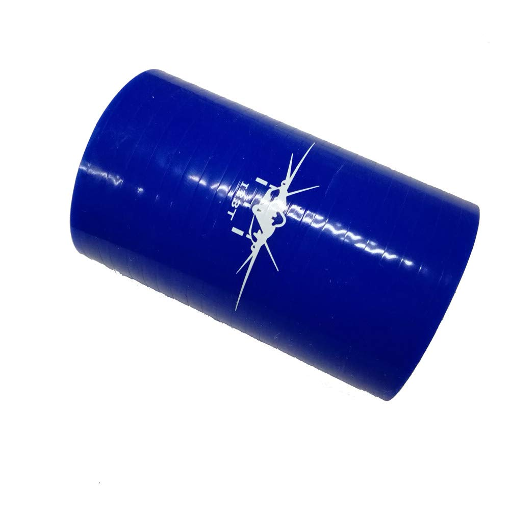 Red, ID4.0 I33T Straight Coupler Silicone Hose Radiator Pipe Inner Diameter 4.0 Inch Length 3 Inch