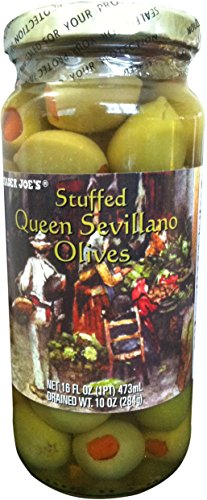 Trader Joe's Stuffed Queen Sevillano Olives