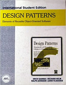 Design Patterns Elements Of Reusable Object Oriented Software Erich Gamma Richard Helm Ralph Johnson John Vlissides 9780201455632 Amazon Com Books