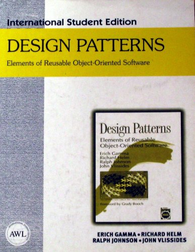 Design Patterns. Elements of Reusable Object-oriented Software