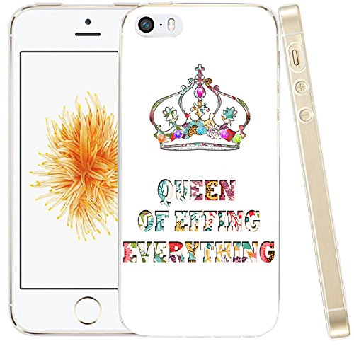 buy popular f4eaf db449 Case For Iphone SE Case Quotes for Girls,Hungo Thin Compatible Soft Tpu  Silicone Protective Cover Shell Replacement For Iphone SE/5S/5 Cute Flower  ...