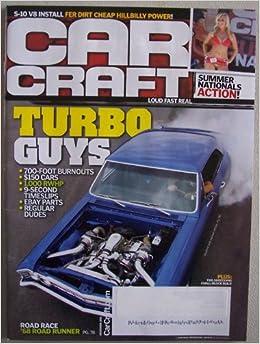 Car Craft [ December 2011 ] Single Issue Magazine (Turbo Guys, Joe De Caros 67 Chevelle on cover): Douglas R. Glad: Amazon.com: Books