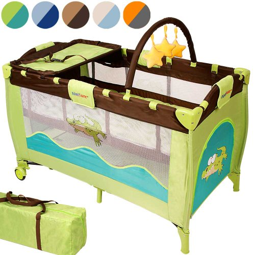 infantastic KRB02Jungle Croc Kinderreisebett