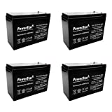 PowerStar 12V 10AH AGM SLA FRESH Battery for 48V Electric Motor E-Bike Bicycle