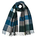 Johnstons Of Elgin - Pure Cashmere - Large Scarf (Peackock 5679)
