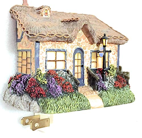 Thomas Kinkade Candles - Thomas Kinkade Candlelight Cottage Sculpted Night Light