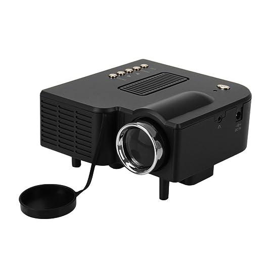 Mini proyector LED portátil 30W Multimedia Teatro-Cine LED ...
