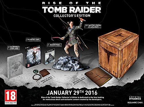 Rise of the Tomb Raider Collector's Edition - PC (Digital Code Bundle) by Square Enix