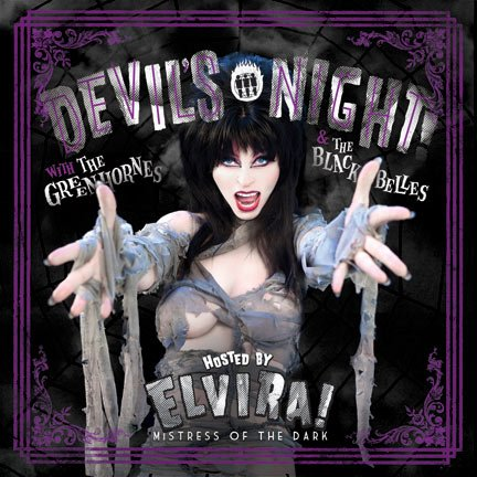 Devil's Night At Third Man Records with the Greenhornes & the Black Belles - Hosted By Elvira! Mistress of the Dark