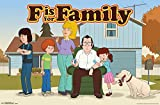 """Trends International F is for Family Murphy's Wall Poster 22.375"""" x 34"""""""