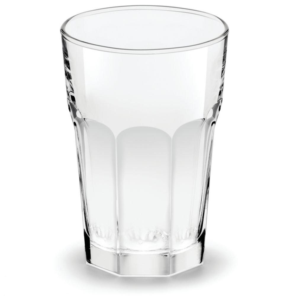 Libbey Glassware 15244 Gibraltar Beverage Glass, Duratuff, 14 oz. (Pack of 36)