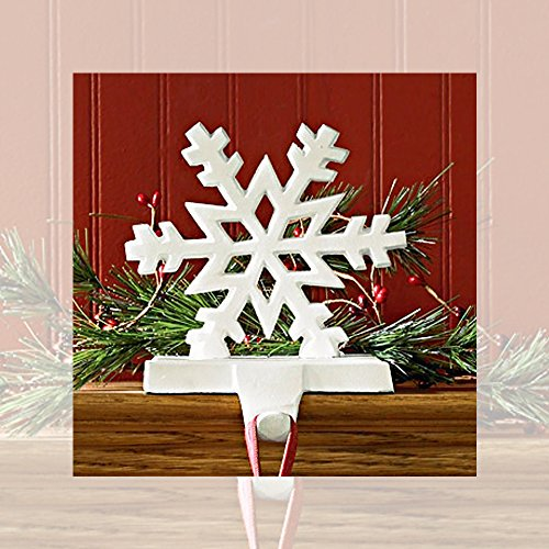 Park Designs Snowflake White Stocking Holder (22-855A) by Park Designs