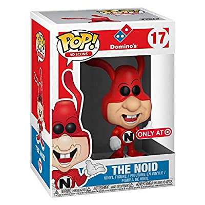 Domino's Funko POP! Ad Icons The Noid Vinyl Figure: Toys & Games