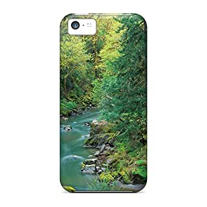 Fashionable Style Cases Covers Skin For Iphone 5c- Coquille River In Oregon