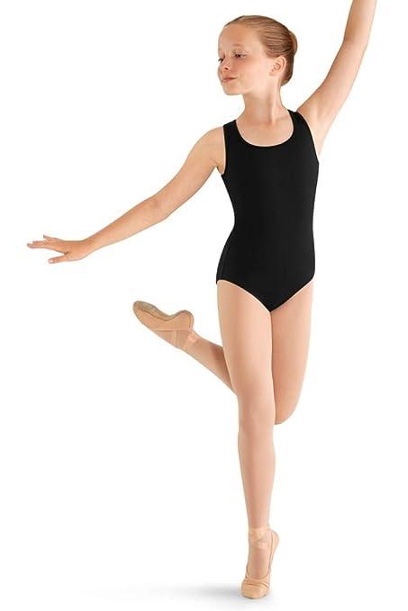 a18ee4ed6 Amazon.com   Mirella Girls Flower Back Dance Tank Leotard   Sports ...