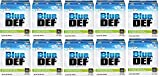 BlueDEF DEF002 Diesel Exhaust Fluid - 2.5 Gallon Jug (12)