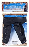 Forum Novelties Men's Deluxe Cowboy Holster Wild West Costume Accessory, Black, One Size