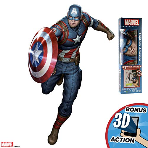 Captain America Decorations (Decalcomania Marvel Captain America 17