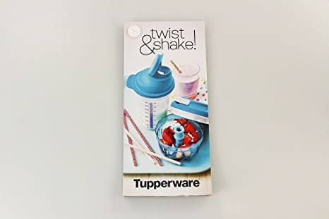 Tupperware Receta Tarjetas Turbo de chef Mix de cocinar Fix Coctelera con recetas Ideas P 20837