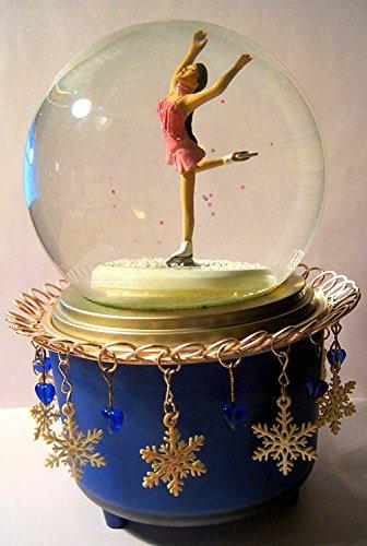 Hallmark, 2002 Winter Olympics in Salt Lake City Commemorative Snow Globe, Kristi Yamaguchi, 7 Inches