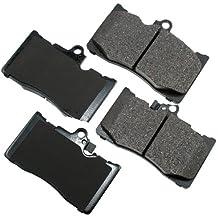 Akebono ACT1118 ProACT Ultra-Premium Ceramic Brake Pad Set