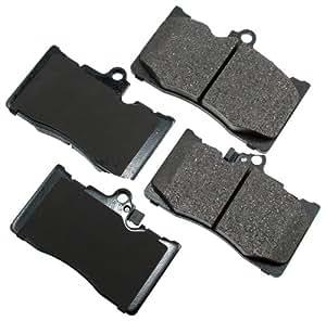 Akebono Act1118 Proact Ultra Premium Ceramic Brake Pad Set