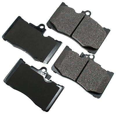 Akebono ACT1118 Proact Ultra Premium Ceramic Disc Brake Pad kit