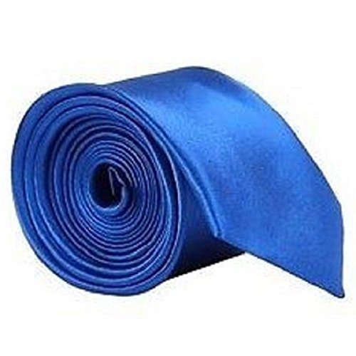 Uniform Ties Office Plain Workwear Sapphire Necktie San Bodhi® Classic Men's Party UfxwqxOP4