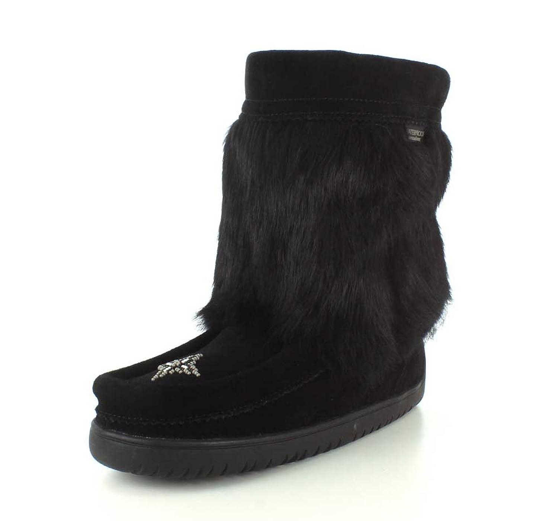 Manitobah Womens Half Mukluk Waterproof Winter Boot