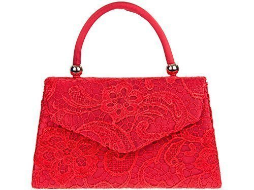 Bridal Clutch Envelope Ladies Faux Handbag Party Hardcase Small Lace Prom Leather Satin Evening Womens 67q844