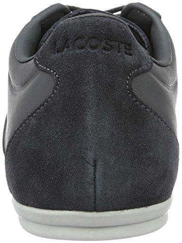 Lacoste Mokara Leer Heren Sneaker Grijs 7-32cam0023248 Grafiet