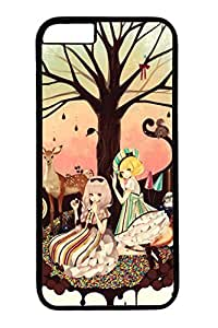Anime Gril 03 Slim Hard Cover for iphone 5c Case ( inch ) PC Black Cases