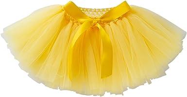 Liyukee - 0-24m Falda del Tutú Color Puro Bebés Niñas, Mullidas ...